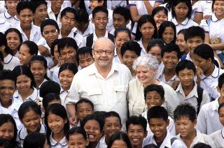 Décès de Christian des Pallières fondateur de Pour un sourire d'enfant.
