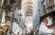 15/08/16: Messe du 15 août et hommage au P. HAMEL à Rouen