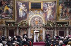 09/01/17 : Vatican, voeux du Corps diplomatique