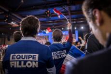 29/01/17 : François FILLON, meeting porte de la Villette à Paris