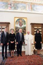 24/05/2017 : D.TRUMP reçu par le pape François, Vatican.