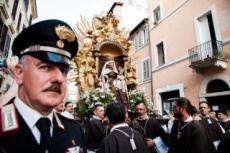 9-30/07/17 : Procession de la Madone del Carmine à Rome