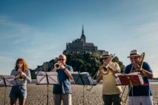 23/09/17 : VIA AETERNA traversée de la Baie du Mont St Michel
