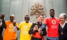 "27/09/17 : ""Partager le chemin"", campagne de Caritas Internationalis"