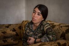 Rojda FELAT, commandante des Forces démocratiques syriennes.