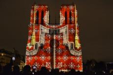 09/11/17 :  Dame de Coeur, son et lumière à Notre Dame de Paris
