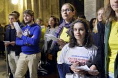 15/11/17 : Messe de rentrée des étudiants d'Ile-de-France à Paris.