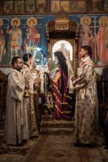 07/01/17 : Noël orthodoxe en l'église Saint-Porphyre à Gaza