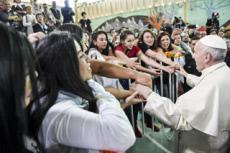 Voyage apostolique du pape François au Chili.