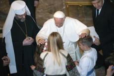 28/01/18 : Le pape rencontre les gréco-catholique ukrainiens de Rome.