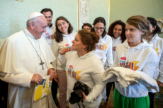 17/09/18 : Des jeunes du diocèse de Grenoble-Vienne reçus par le Pape