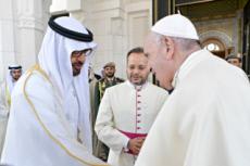 Visite historique du pape François aux Emirats arabes unis
