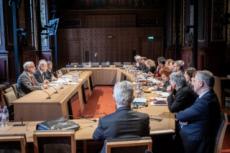 Commission sénatoriale d'écoute sur les abus sexuels sur mineurs.