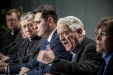 18/02/19 : Vatican, conf. de presse du sommet contre les abus sexuels.