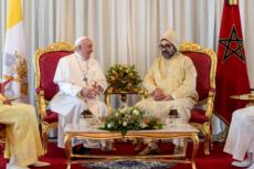 Visite du pape François au Maroc.