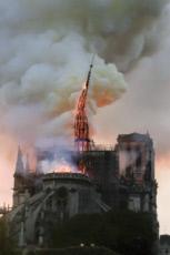 15/04/19 : Incendie de la cathédrale Notre-Dame Paris