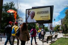 Voyage apostolique du pape Francois en Macédoine du Nord
