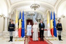 Voyage du pape François en Roumanie.