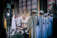 15/06/19 : Première messe à Notre-Dame de Paris depuis l'incendie.