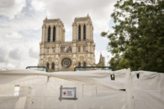 01/09/19 : Notre-Dame, reprise des travaux après dépollution.