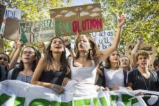 20/09/19 : Marche des jeunes pour le climat à Paris.