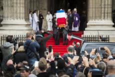 30/09/19. Obsèques de Jacques CHIRAC.