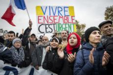 10/11/19 : Paris, marche contre l'islamophobie.