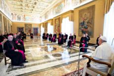 03/20 : Des évêques français en visite ad limina à Rome.
