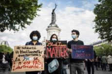 09/06/20 : Paris, rassemblement en hommage à George FLOYD.
