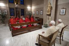 28/11/20 : François, Benoît XVI et les nouveaux cardinaux.
